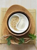 Brown rice and rice flour