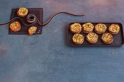 Stuffed pine nut biscuits alla fiorentina (Italy)
