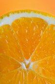 Orange slice, Close Up