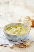 Galician bacon and vegetable soup