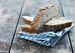 Country style bread with oats and potatoes