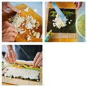 'Low Carb' sushi being made with cauliflower