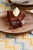 Oriental spiced chocolate cake with walnuts (Arabia)