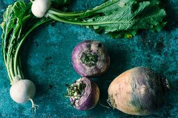 Turnips and swedes
