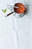 Oriental tomato sauce