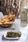 Bugdayli Karalahana (Turkish black kale with wheat)