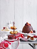 Cakes & Puddings, Brandy Butter, Gingerbeer Christmas pudding, Gingerbeer Fruit Cake, Vanilla Shortbread, Gluten-free Christmas Cakes, Little Fruit Mince Tarts
