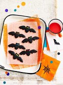 Black bats biscuits