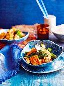 Calamari stir-fry