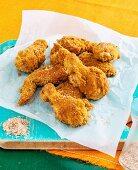 Buttermilk crumbed chicken wings
