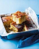 Caramelized pineapple cake