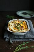 Sweet potato bake with herbs