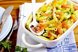 Ham and pasta bake