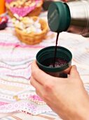 Hot Elderberry Drink