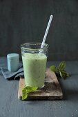 A buttermilk and basil shake