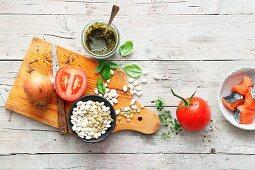 Ingredients for European stews