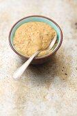 Homemade mustard sauce
