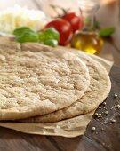 Gluten-free pizza bases