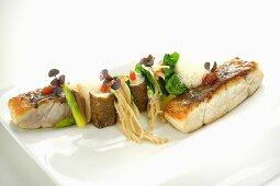 A Thai-style fish platter