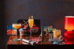 Various cocktails from the early 2000s