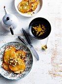 Malpua (sweet deep-fried pancakes from Bengal)