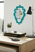 DIY-Bilderrahmen aus Fotokarton in Barockstil