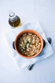Fagioli all'uccelletto (white beans with sage, Italy)