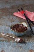 Dark miso paste for fermenting vegan cheese
