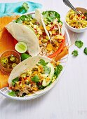 Chicken Tortillas with vegetable