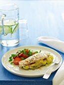 Barbecue Special - Mozzarella & Pesto Stuffed Chicken Breast