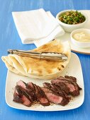 Barbecue Special - Lebanese Lamb Wraps with Tabouli