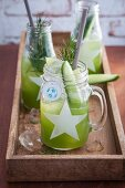 Green Mule cocktails