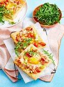 Leek, Bacon & Egg Tart