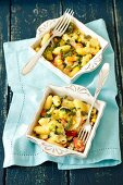 Gnocchi and vegetable bake