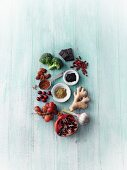 Superfoods – ORAC values being compared