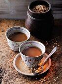 Dinkelkaffee nach Hildegard von Bingen