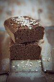Glutenfreies Brot mit Haferflocken