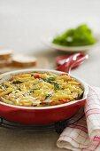 Macaroni and Zucchini Frittata