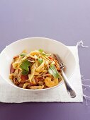 Char Kway Teow - Fried Flat Noodles