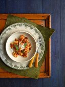 Ricotta Gnocchi with Napoletana Sauce