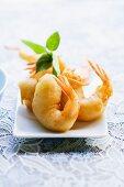 Prawn tempura (Thailand)