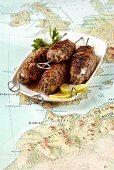 Beef kofta from Morocco