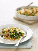 Crispy Chicken and Vegetable Bake