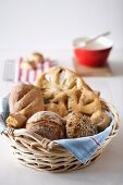 Baskets Of Loaf Breads