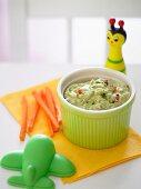 Tempting Toddlers Avocado Dip for Kids