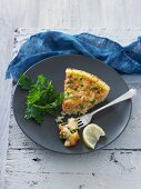 Salmon & Rice Pie