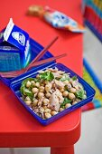 Tuna & Chickpea Salad for Lunch