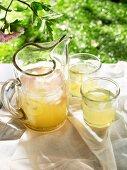 Posh picnic - organic lavender and rose lemonade
