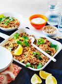 Curried beef rice