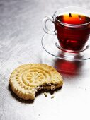 Tee und süsses Gebäck aus Nahost